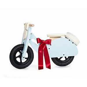 1. Wooden Vespa-Style Scooter