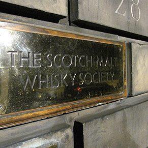 7. The Scotch Malt Whisky Society, Edinburgh