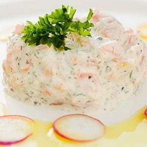 Seafood and Cheese Mousse