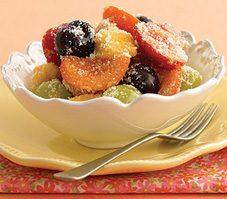 Spiced Seasonal Fruit Salad