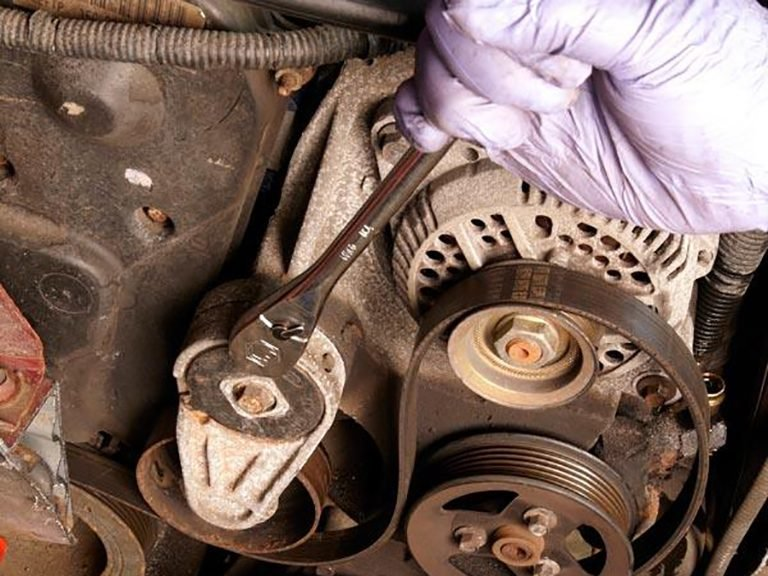 Changing Your Car's Serpentine Belt