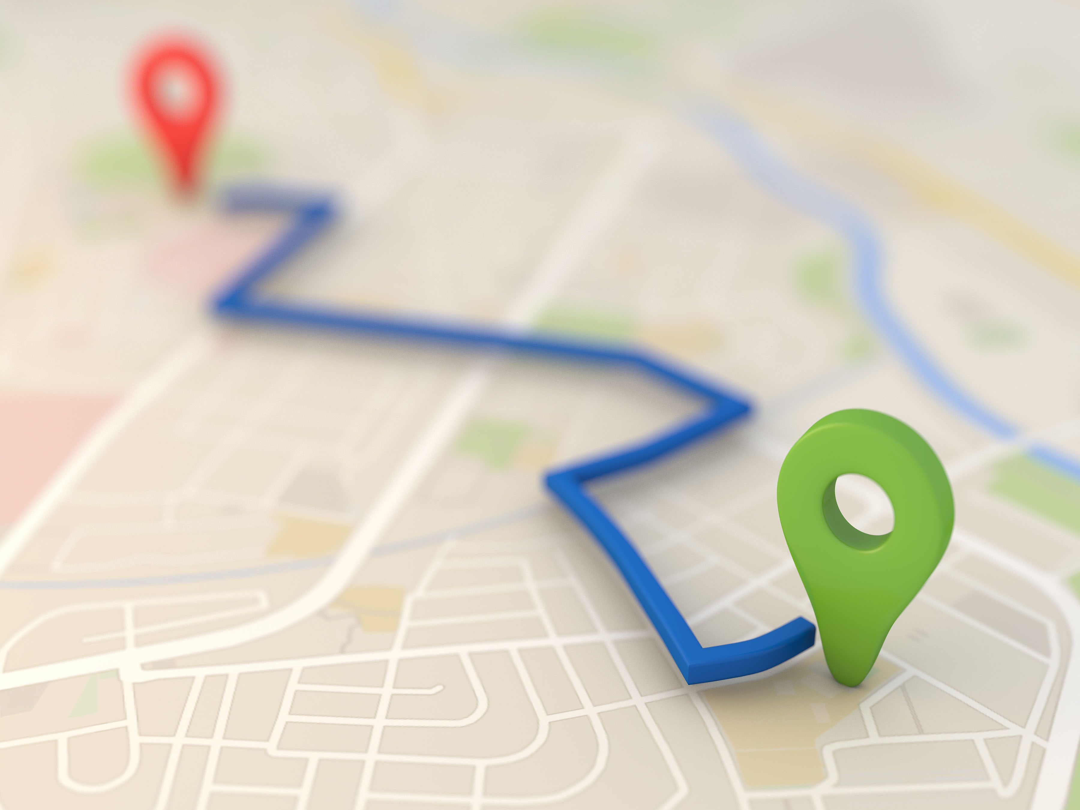 2. Set Your Starting Point, Destination and Route