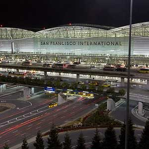 9. San Francisco International Airport, California