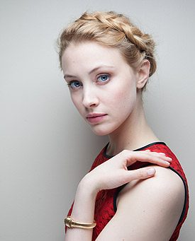 Blond Ambition: Canadian Movie Star Sarah Gadon