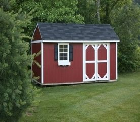 Landscaping Ideas To Get Organized: Get a Shed!