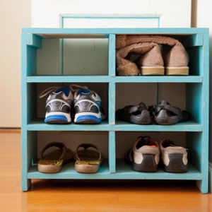 7.  Put a Shelf By The Front Door
