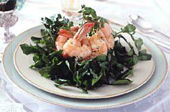 Shrimp and Watercress Salad