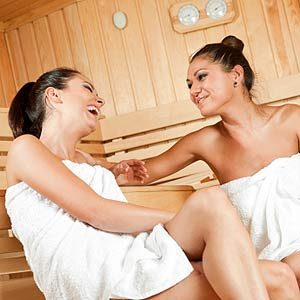 10. Sit in a Sauna Once a Week