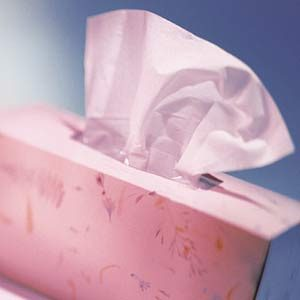 6. Put a Box of Tissues Wherever People Sit