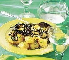 New Potatoes with Nori