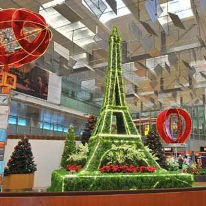 4. Changi Airport, Singapore
