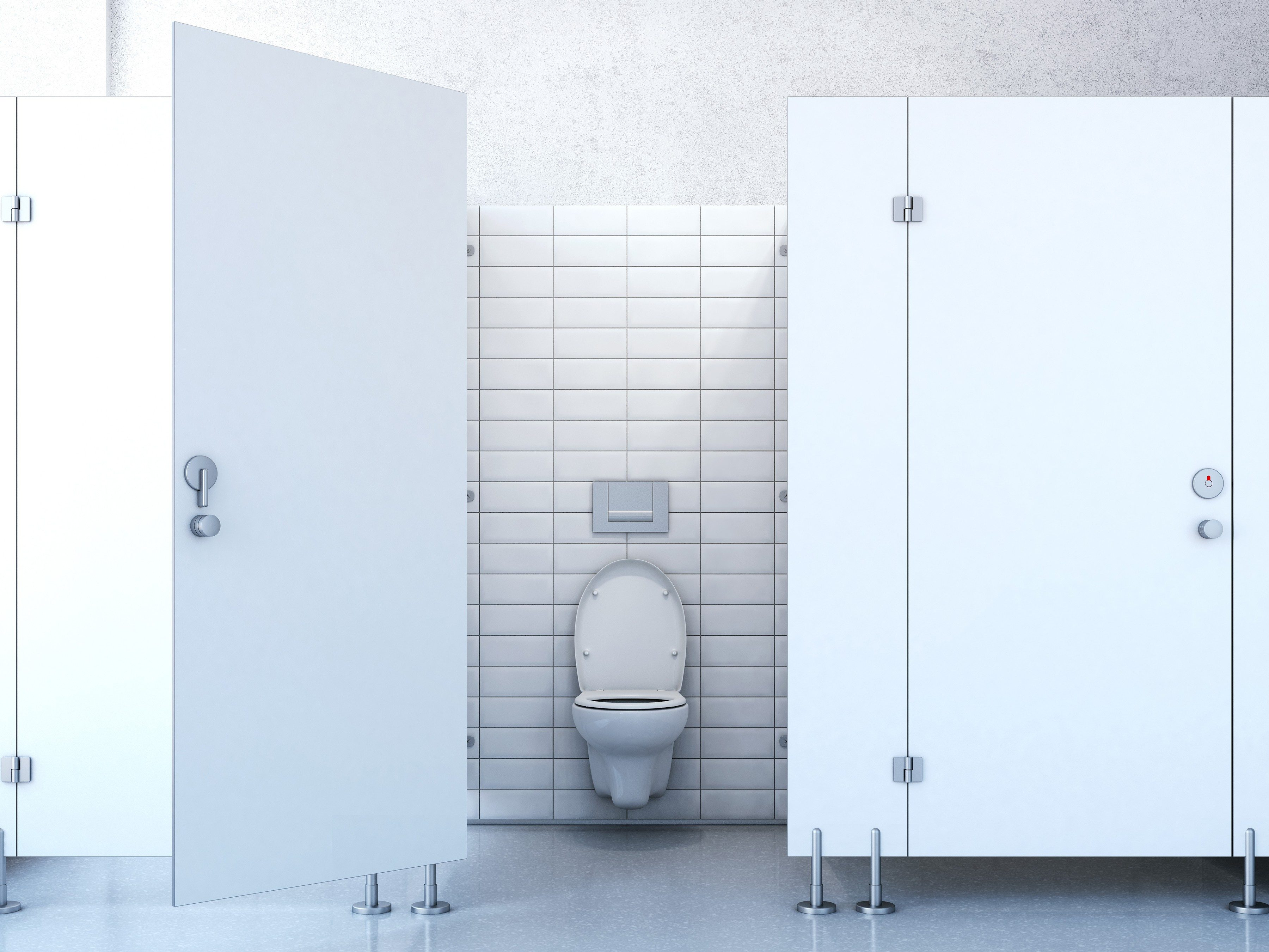 7. Toilets aren't the most dangerous thing in public bathroom.