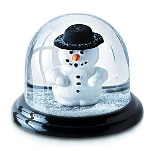 Things you can bring on a plane in Canada: Snow Globes