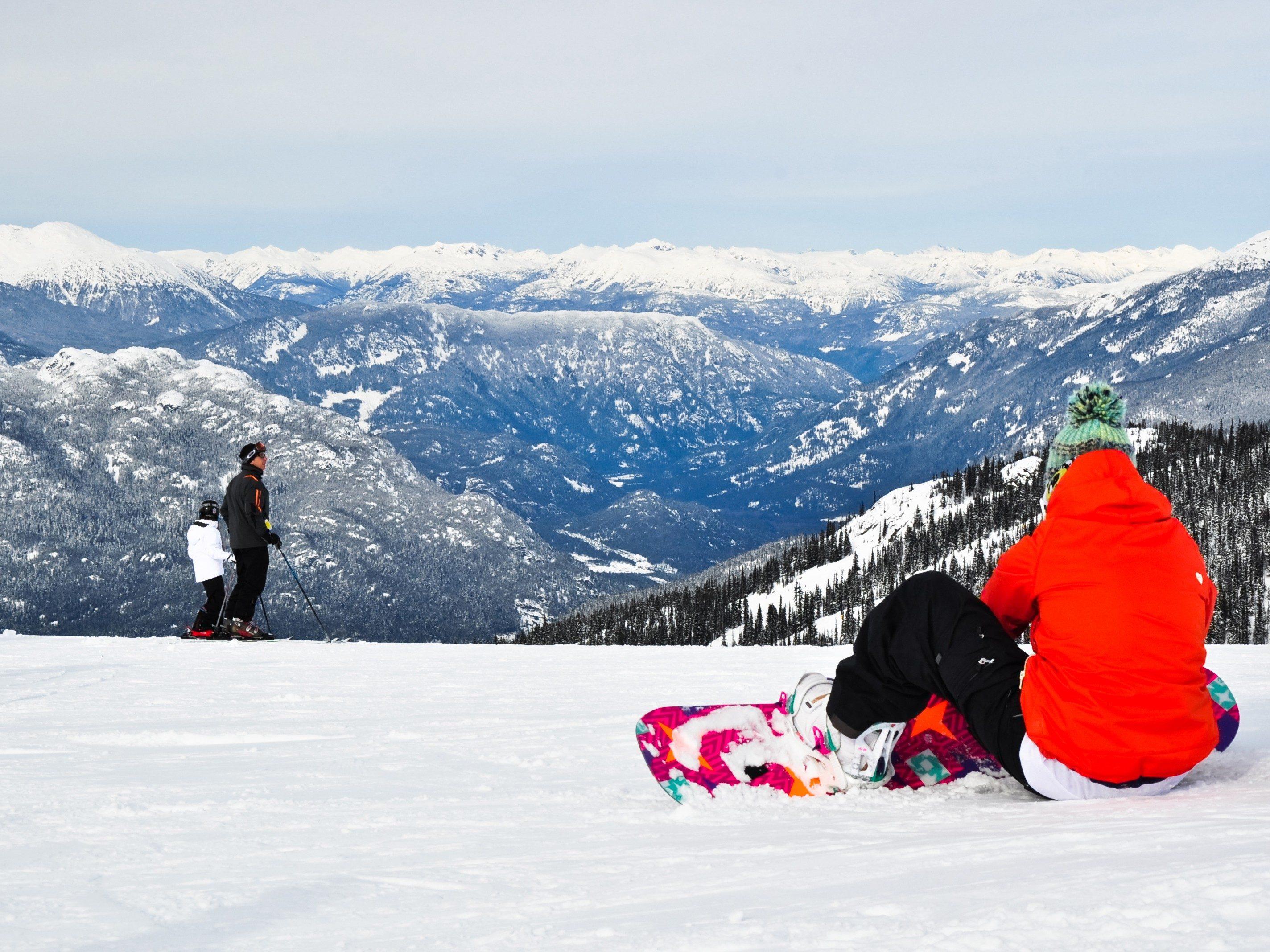Snowiest Destinations: Whistler, B.C.
