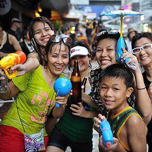 3. Songkran, Thailand