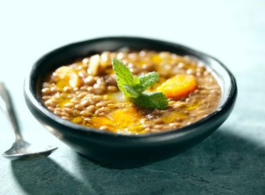 1. Hearty Chunky Vegetable Lentil Soup Recipe