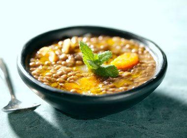 Chunky Vegetable Lentil Soup