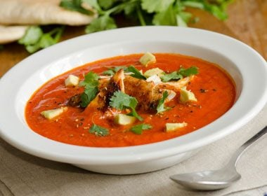 8. Full-Flavoured Tortilla Soup with Chicken Recipe
