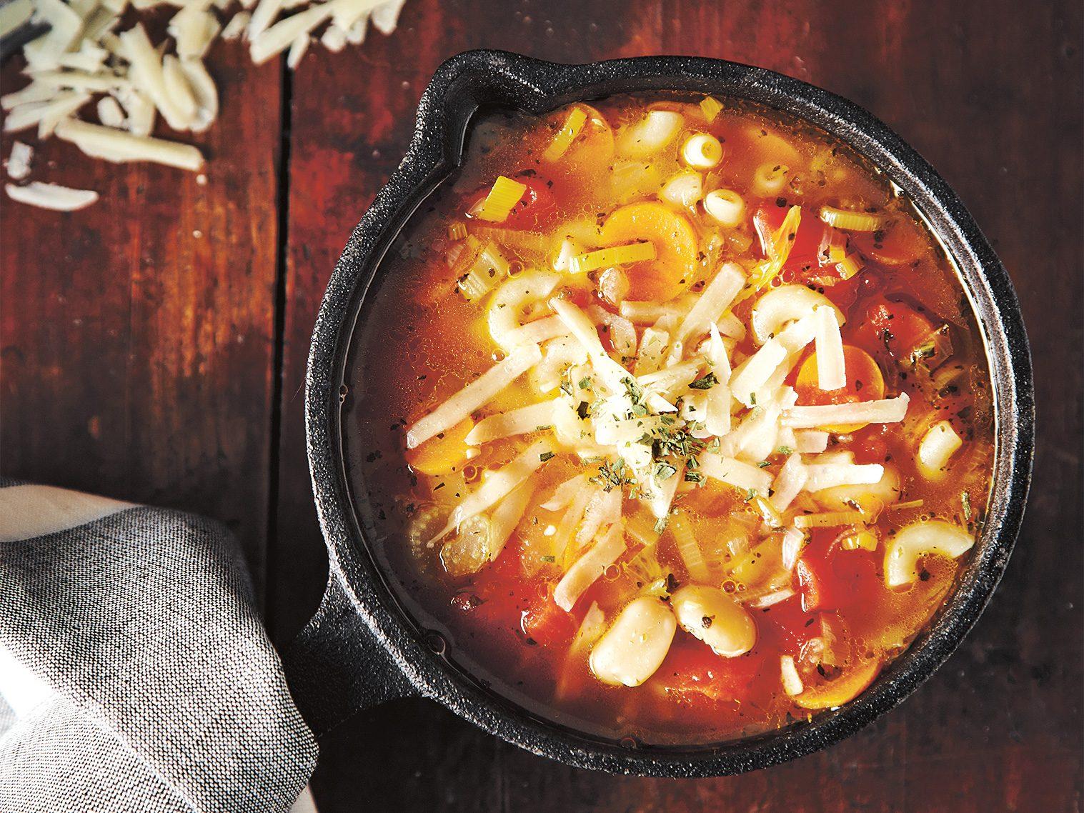 5 grandi ricette di zuppa
