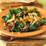 Spinach, White Bean and Bacon Salad