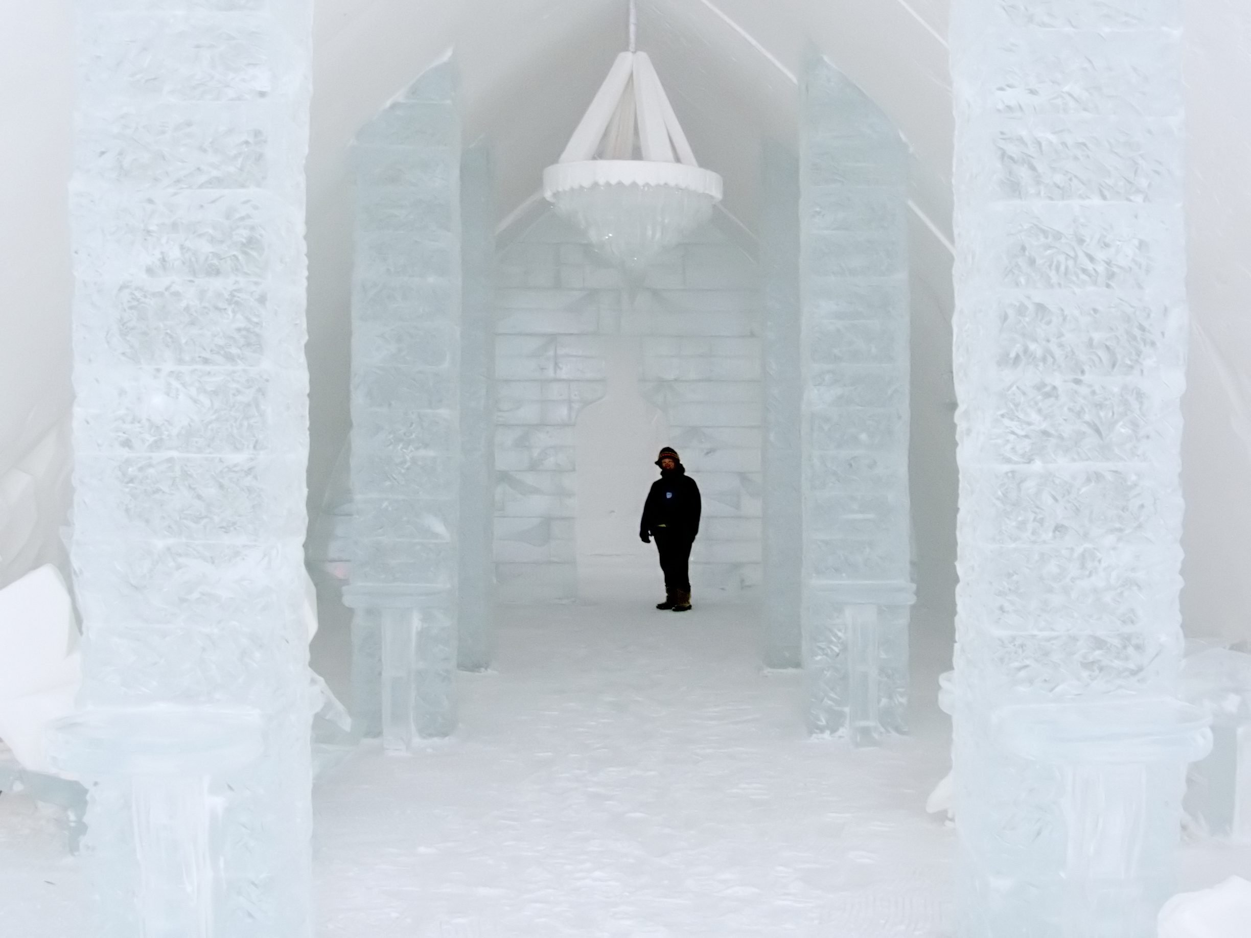 7. You Can Sleep in an Ice Hotel