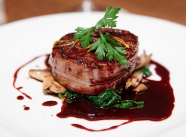 Fillet Steaks With Wild Mushrooms and Shallot