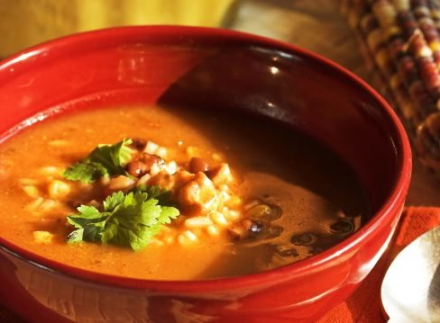 Caribbean Butternut Squash and Corn Stew