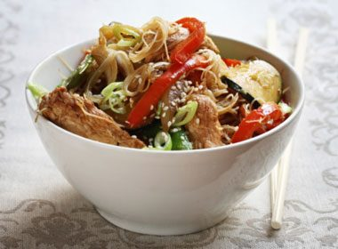 Italian Chicken Stir-Fry