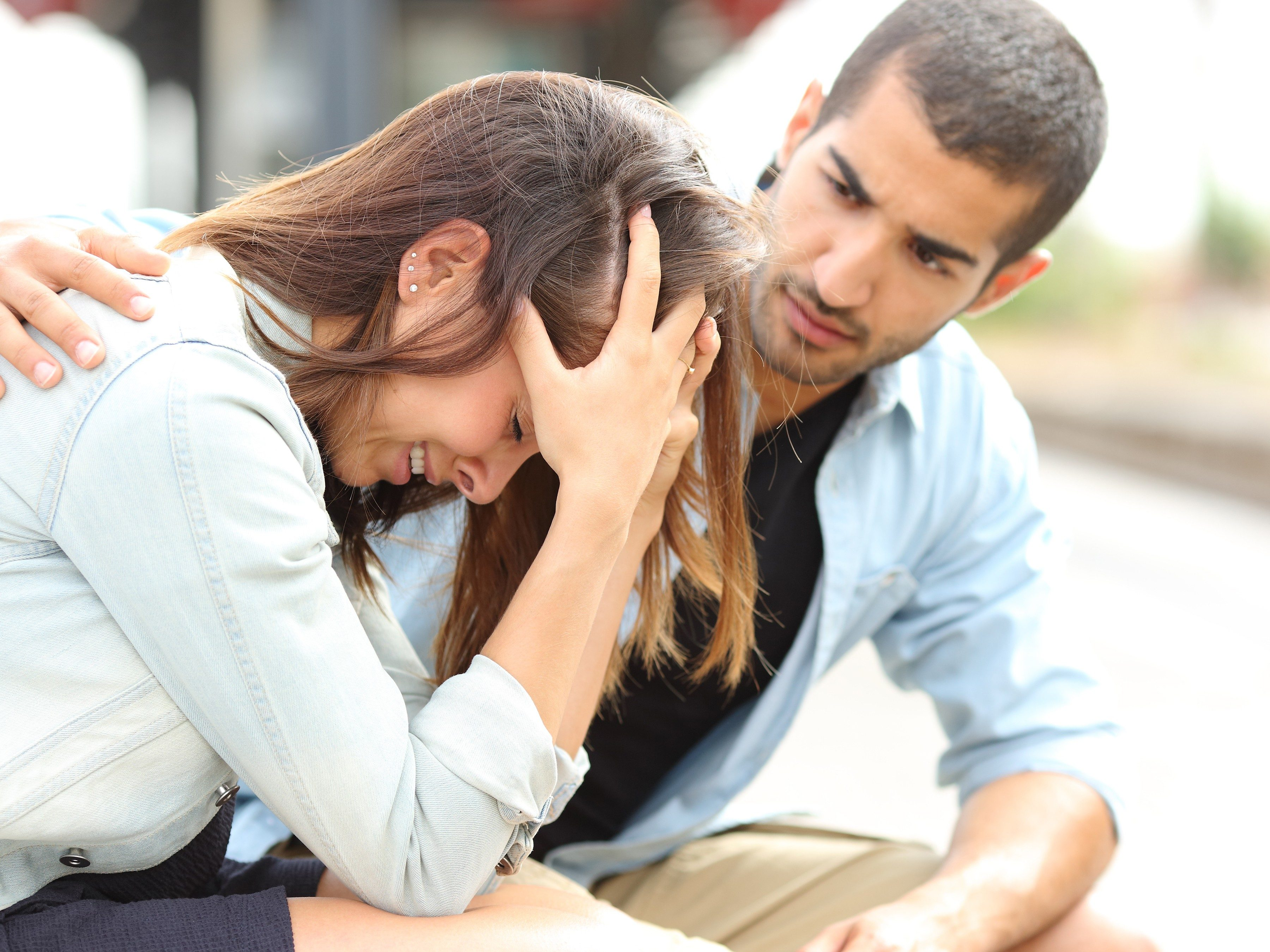 8. Stress is especially contagious if you love the person.