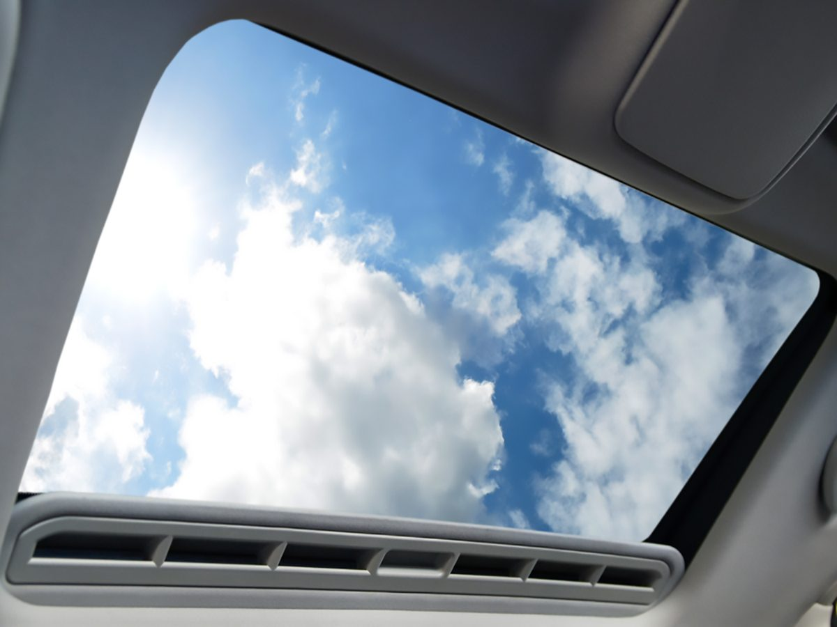 Fixing a Leaking Sunroof
