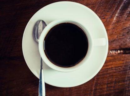 Take your coffee black