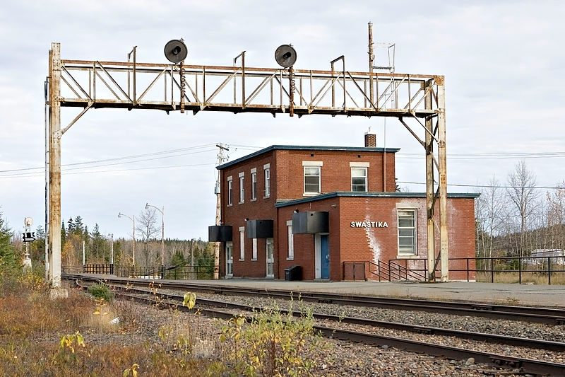 Swastika, Ontario.