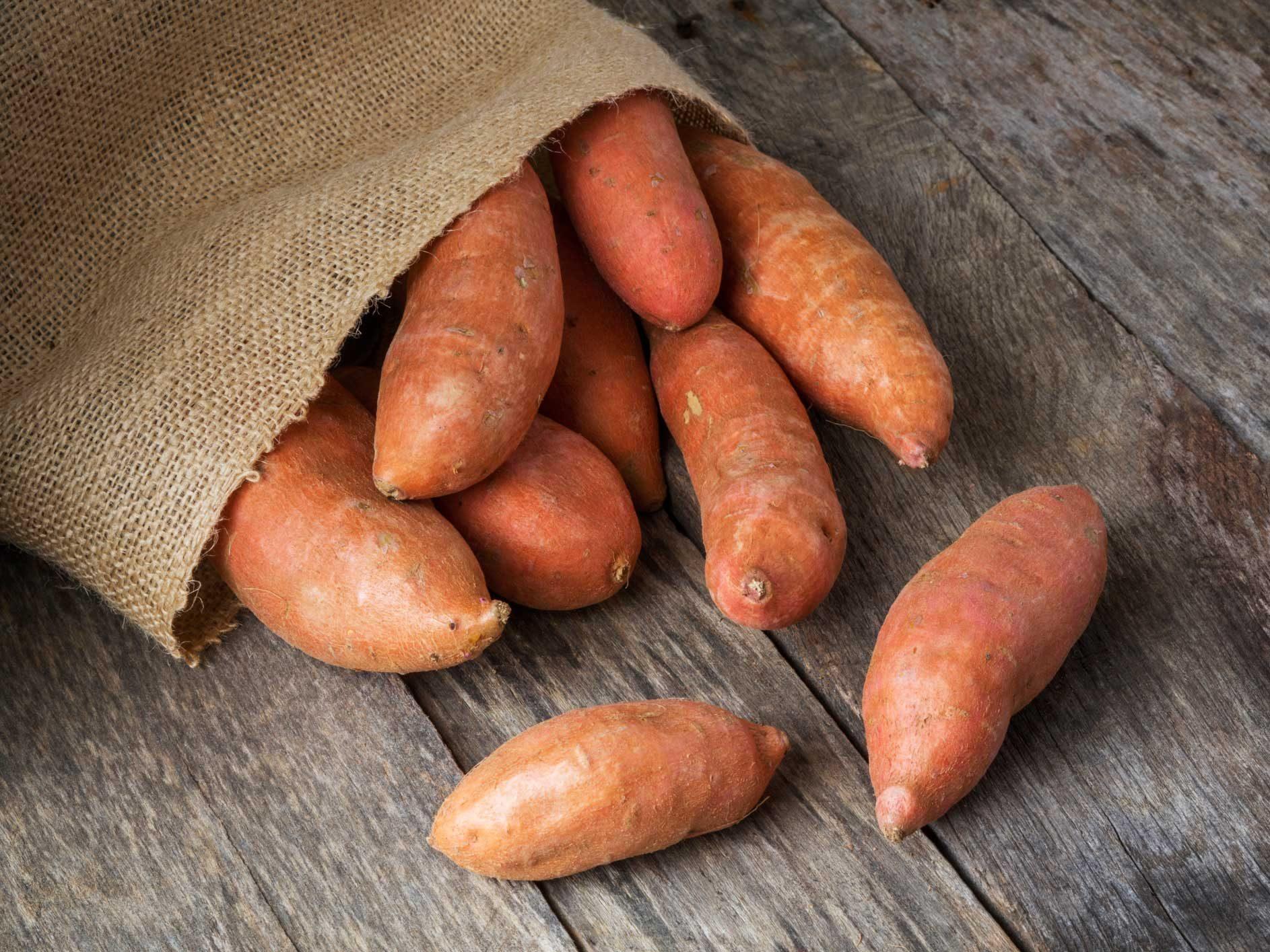 Sweet Potatoe wedges