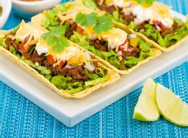 Chili Beef And Taco Salad
