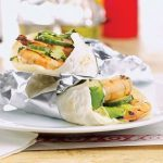 Grilled Shrimp Tacos With Wasabi Mayo