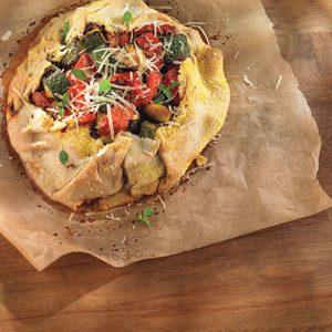 Rustic Roasted Vegetable Tart