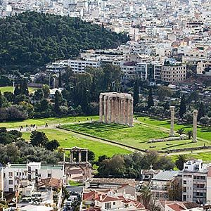 2. Temple of the Olympian Zeus