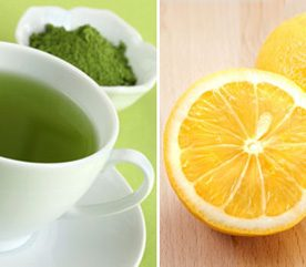 For More Heart-Healthy Antioxidants Pair Up Green Tea and Lemon Juice