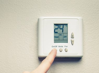 2. Turn down your thermostat