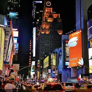 Inexpensive Big Apple Locales: A Times Square Visit
