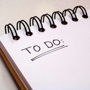 5. Get Organized