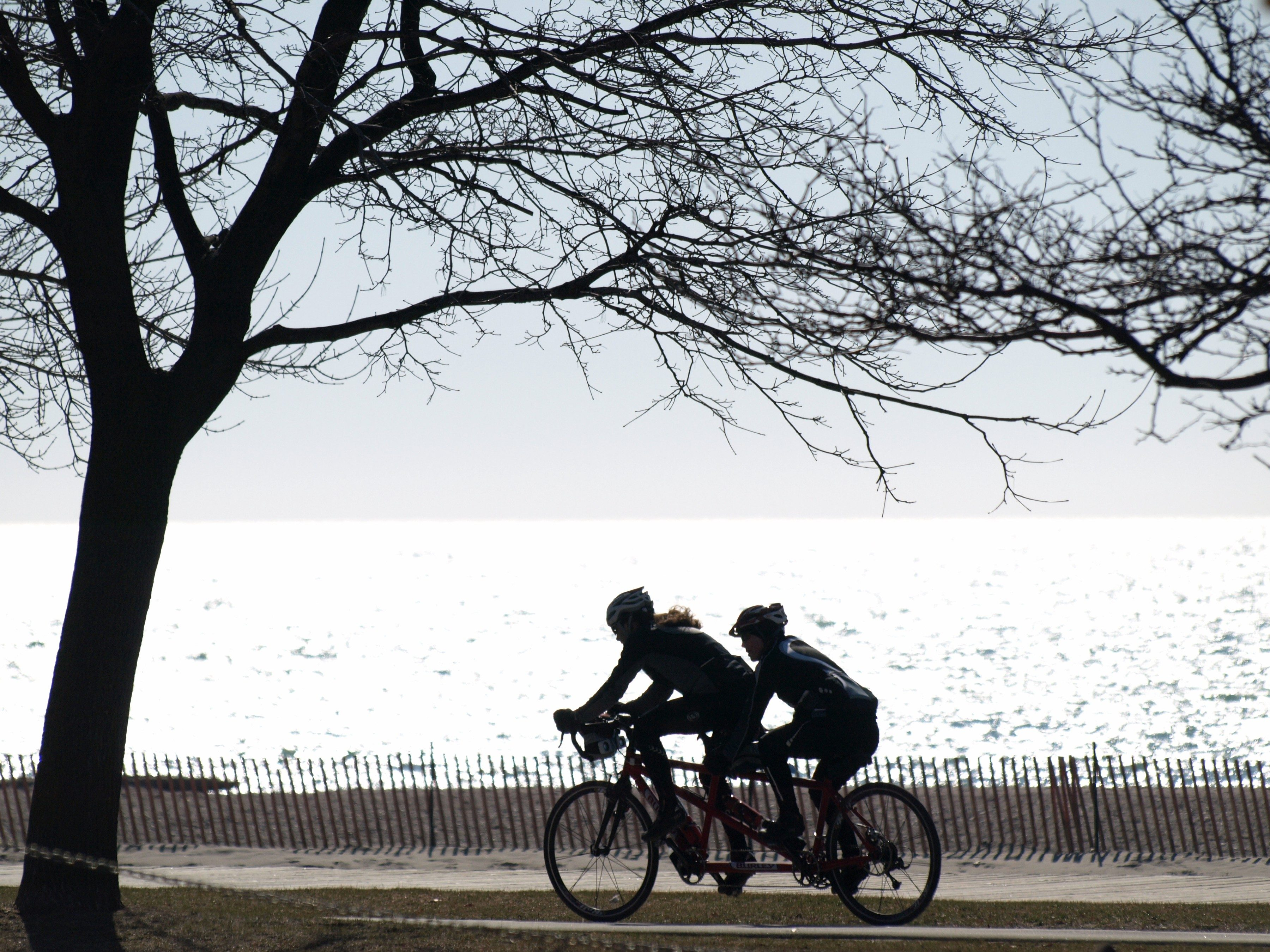 6. Toronto Island on a tandem bike