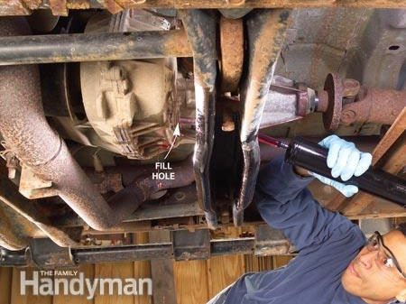 Changing Transfer Case Oil: Refilling the Transfer Case