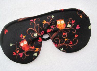A Luxe Sleeping Mask