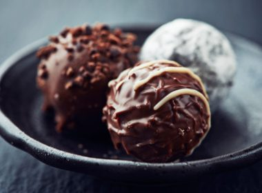 Chocolate Fruit and Nut Truffles