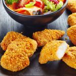 Tempting Turkey Bites With Tomato and Fruit Salsa
