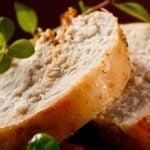Apple-Stuffed Turkey Breast with Orange Marmalade Glaze