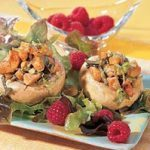 Turkey and Mushroom Salad