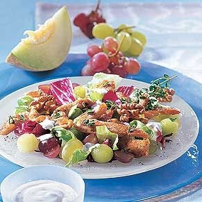 Turkey and Fruit Salad