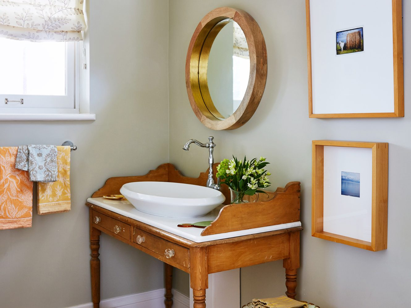 Thrifty decorating tip #3: Repurpose an antique